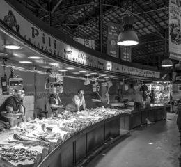 Весовая торговля рыбой
